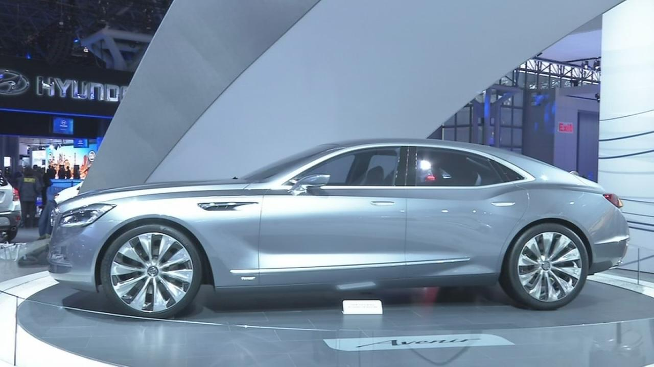 Buick concept car shows off future of brand at NY Auto Show