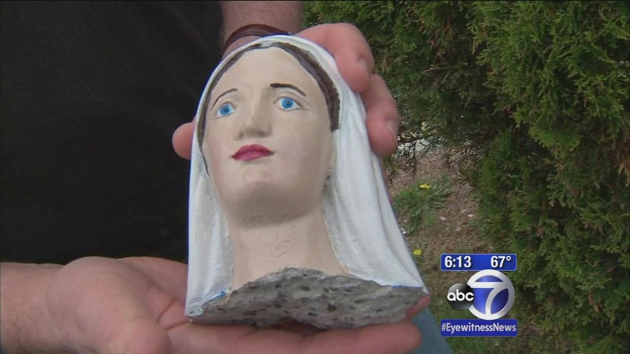 Virgin Mary statue desecrated yet again