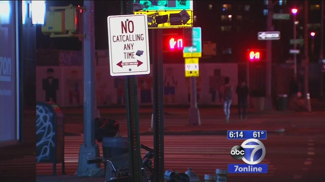 No Catcalling signs to come down in New York City