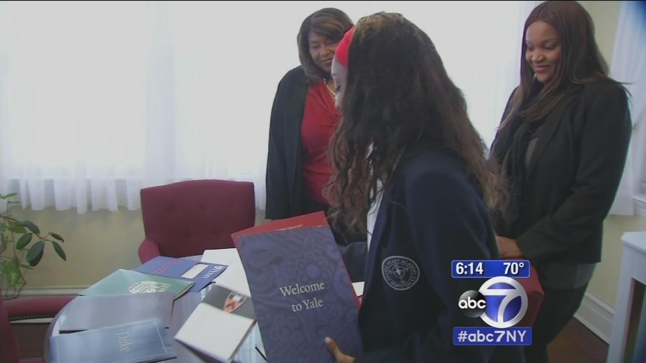 Sandy victim accepted to all seven Ivy Leagues she applies to