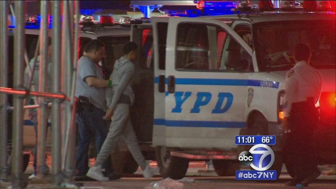 Suspects in custody after two teens shot in Brooklyn, 1 fatally