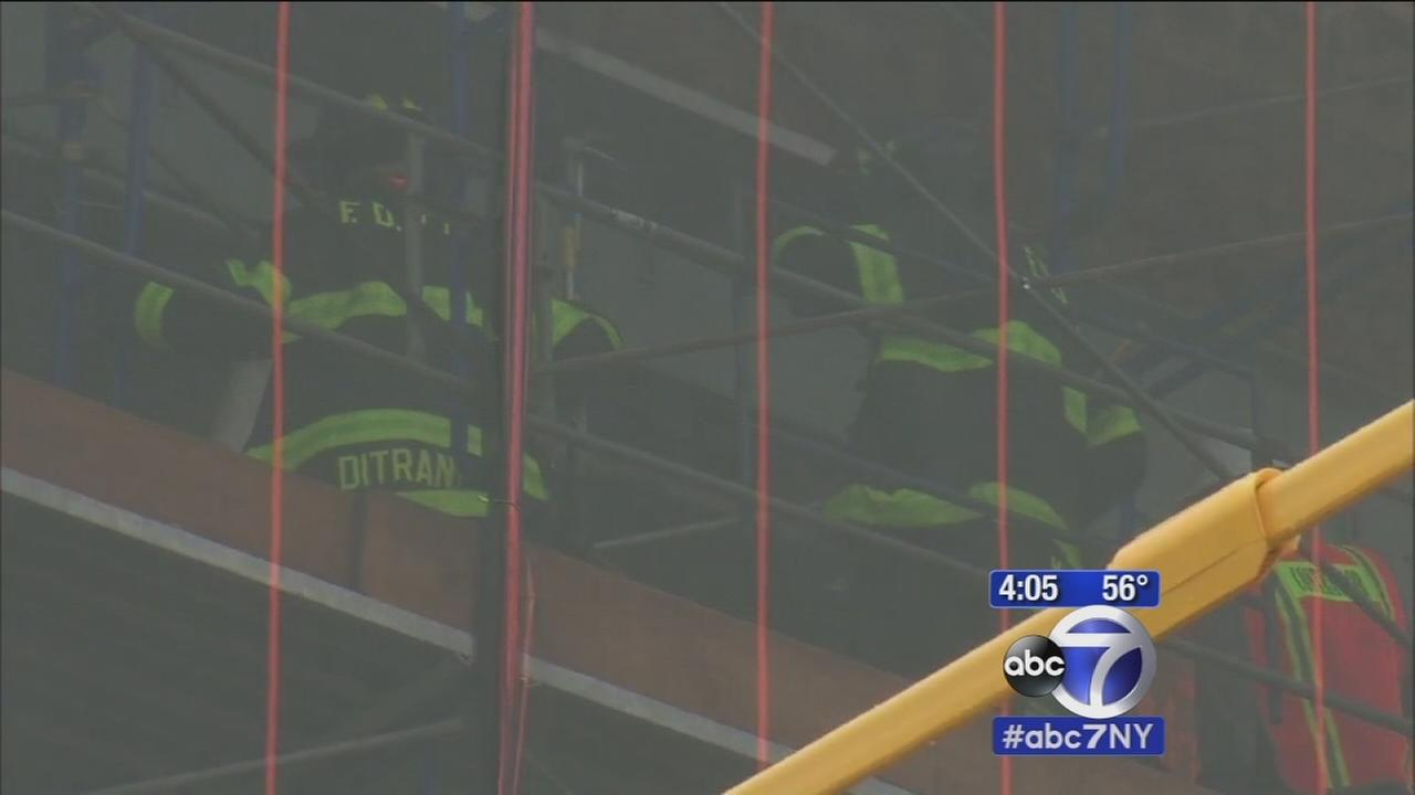 Window collapses while school is in session in Brooklyn