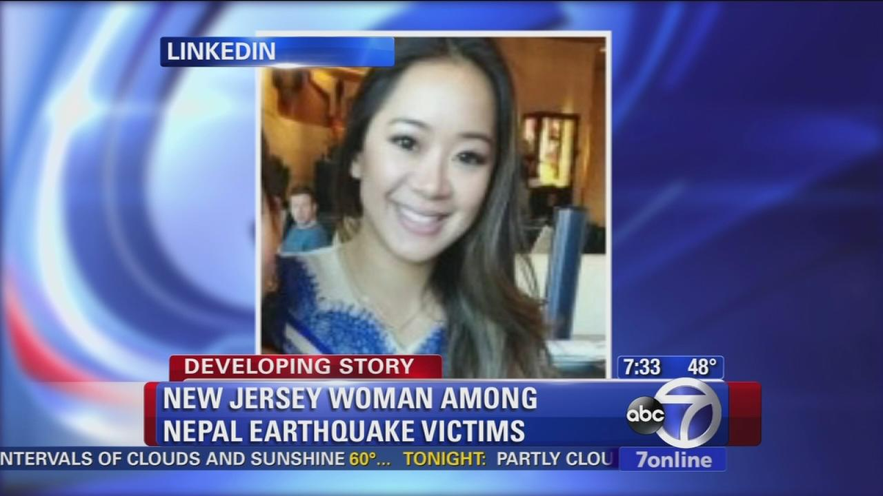 NJ woman among victims of Nepal quake