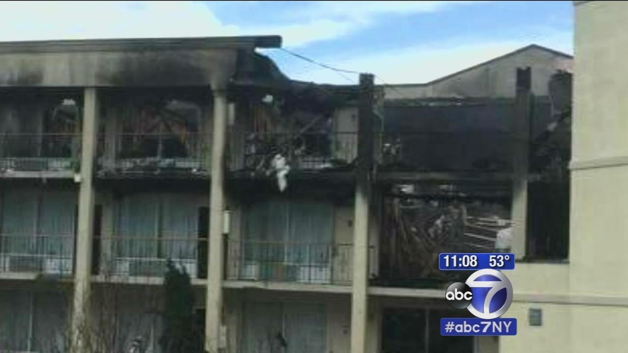 Queens high school students come home after DC hotel fire