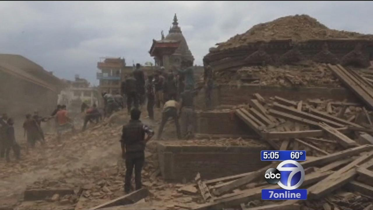 Death toll in Nepal quake rises to more than 4,000