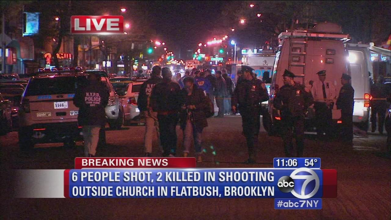 Six shot in East Flatbush, Brooklyn after funeral