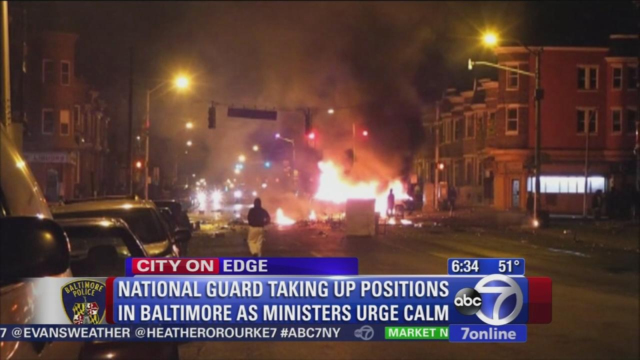 National Guard brought in amid riots