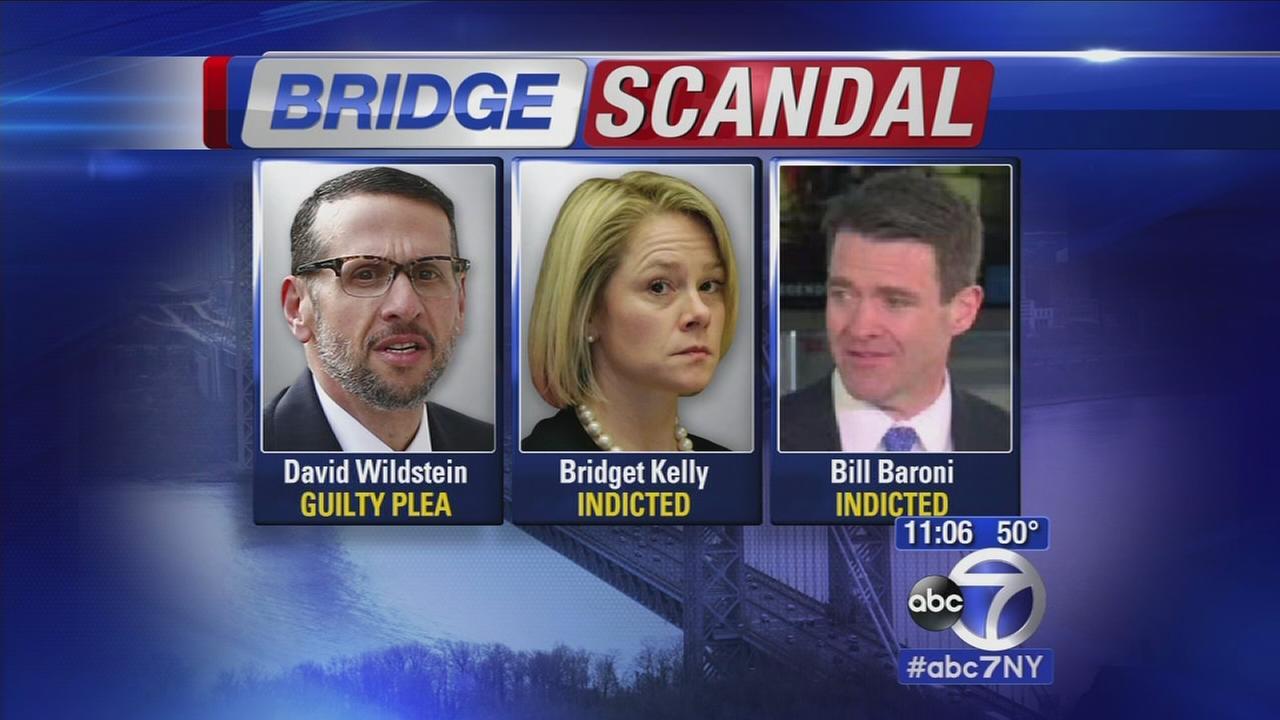 Three charged in Bridge Scandal