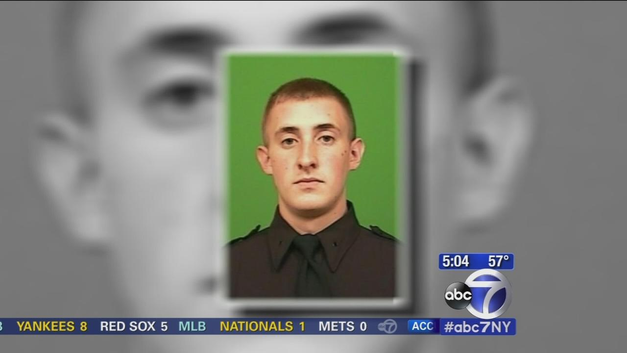 Suspect charged in shooting of NYPD officer