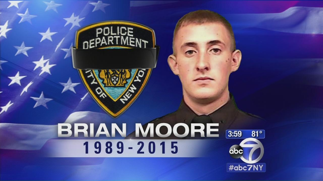 NYPD mourning loss of Officer Brian Moore
