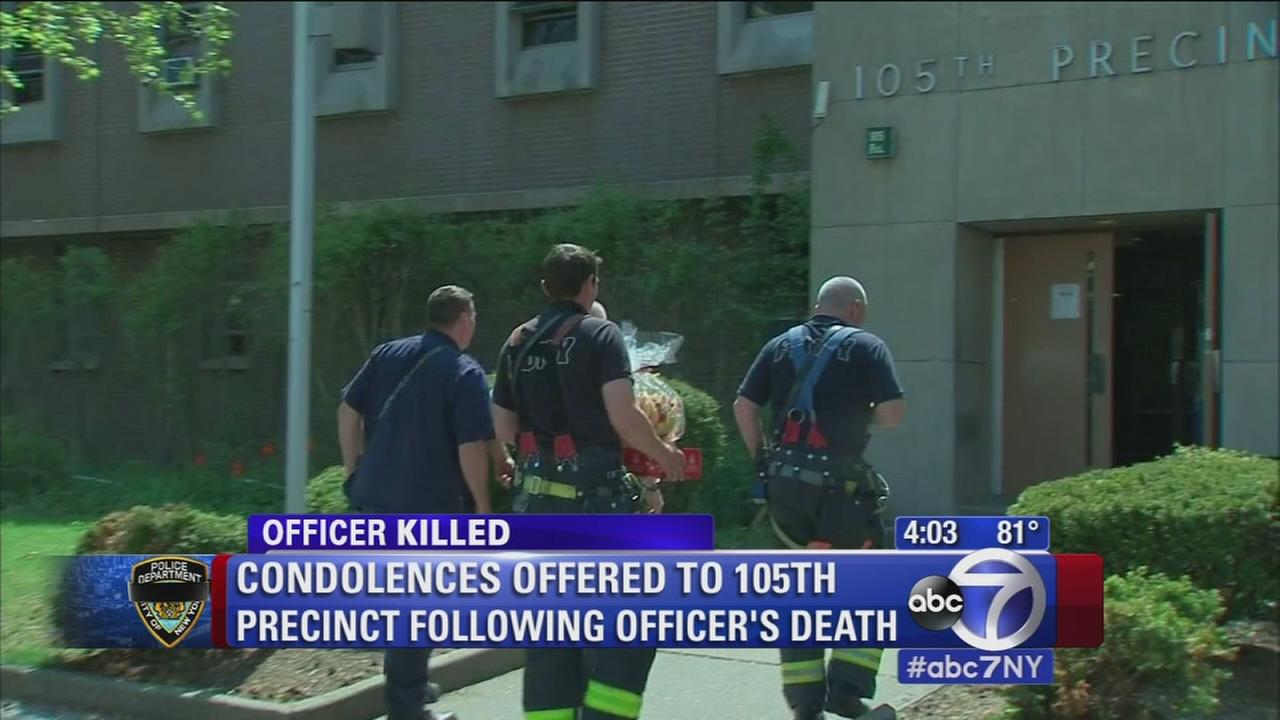 NYPD, community mourning the loss of Officer Brian Moore