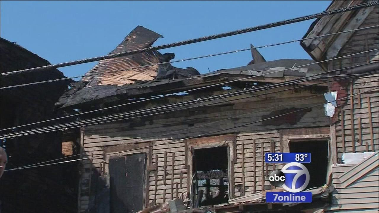 Dozens forced from homes after Passaic church fire starts