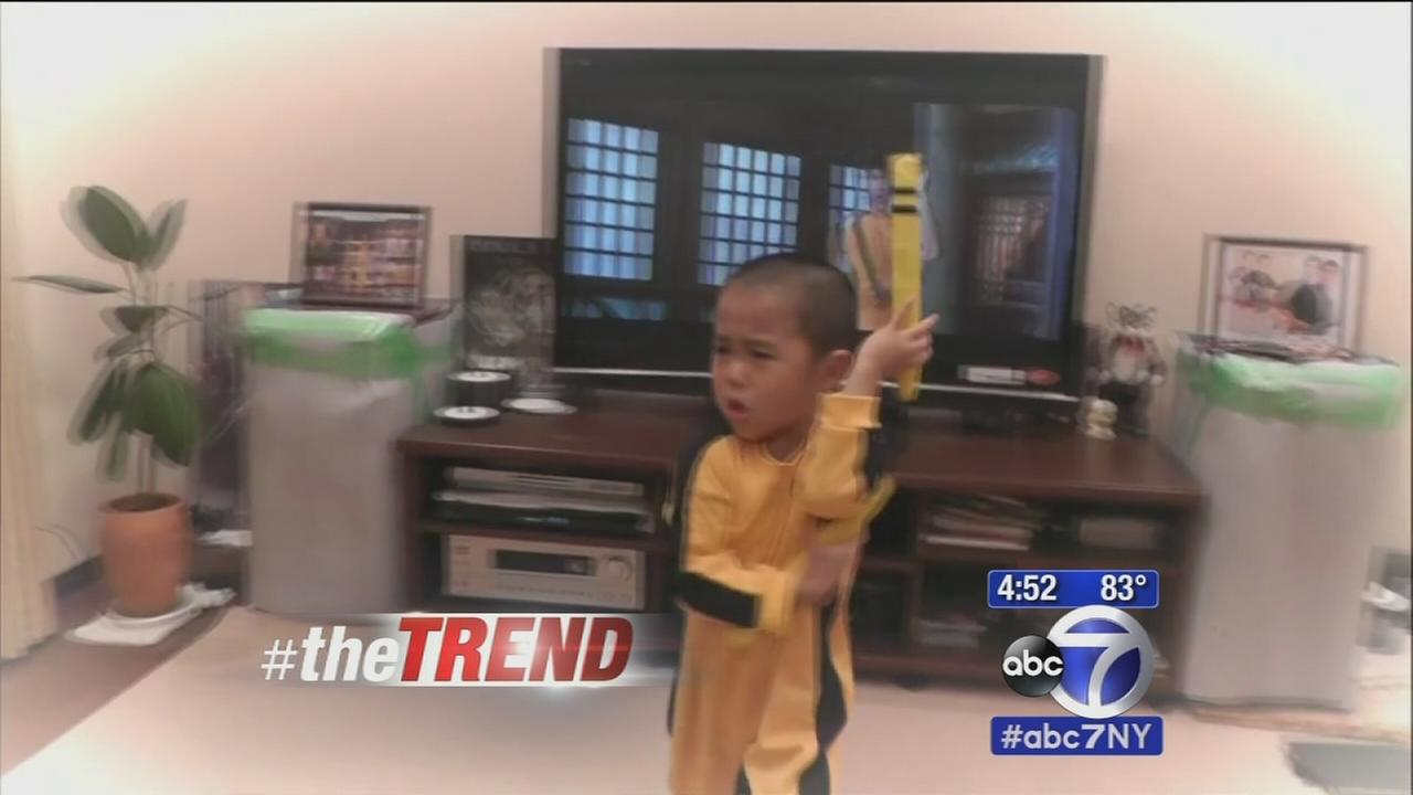 The Trend: 5-year-old perfectly performs nunchuck moves