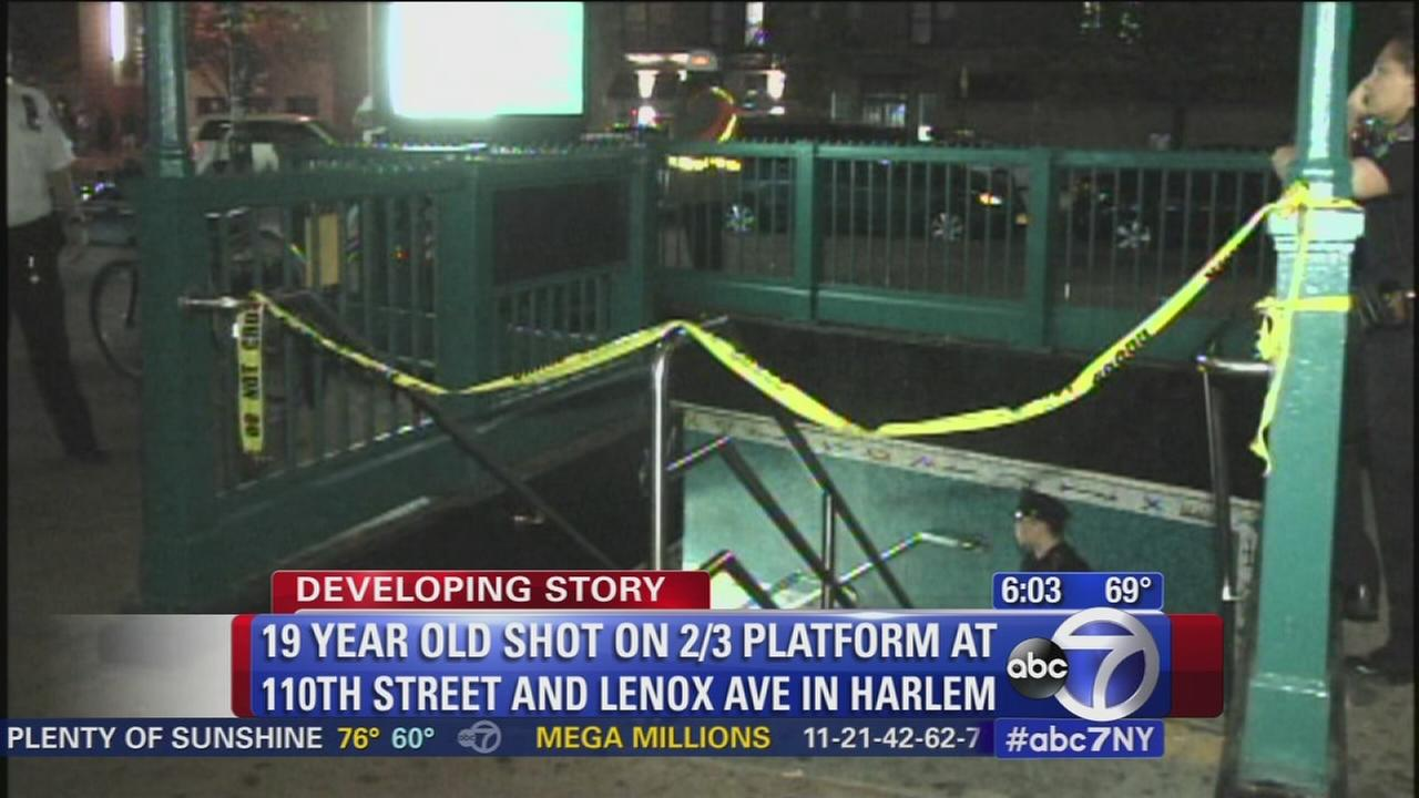 Subway shooting leaves 1 wounded
