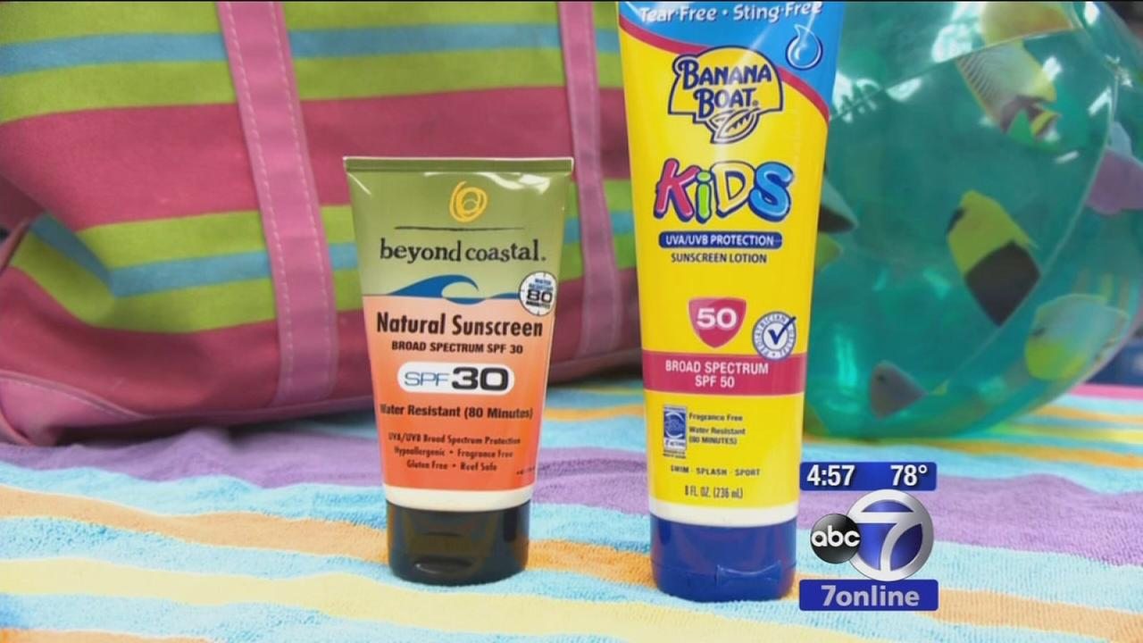 New drinkable sunscreen and which sunscreens work best
