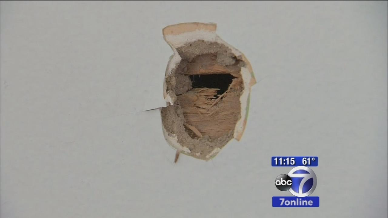 Bullet pierces through young familys home in Connecticut