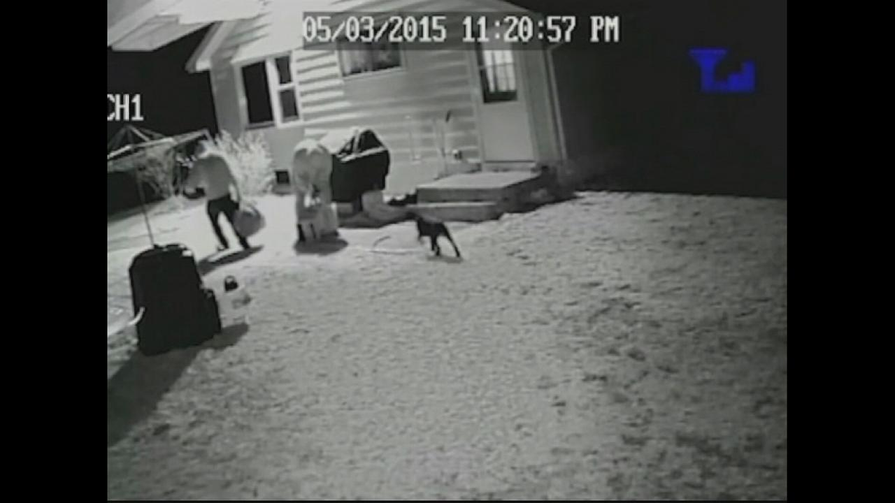 Violent New Hampshire home invasion caught on camera