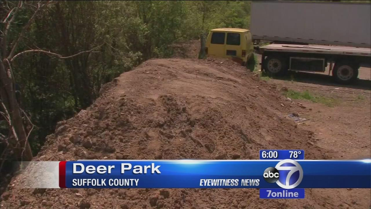 Mysterious substance dumped in Deer Park