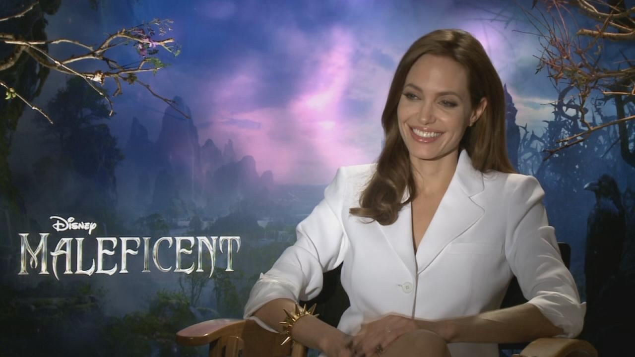 One-on-one with Angelina Jolie