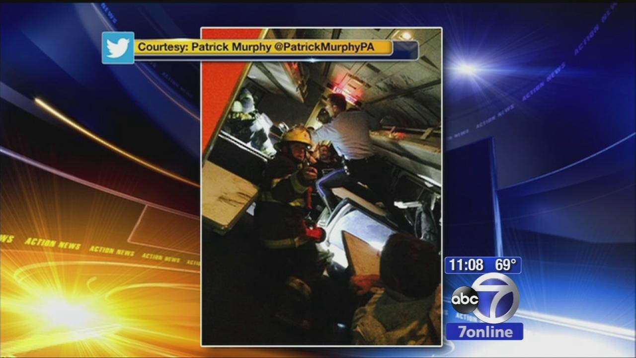 Fmr. Rep. Patrick Murphy on the phone about Amtrak derailment