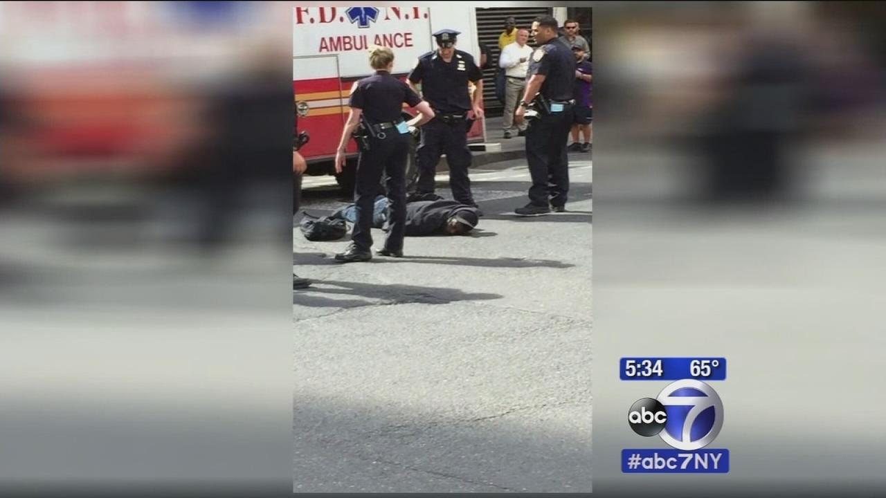 Hammer attack suspet shot by police