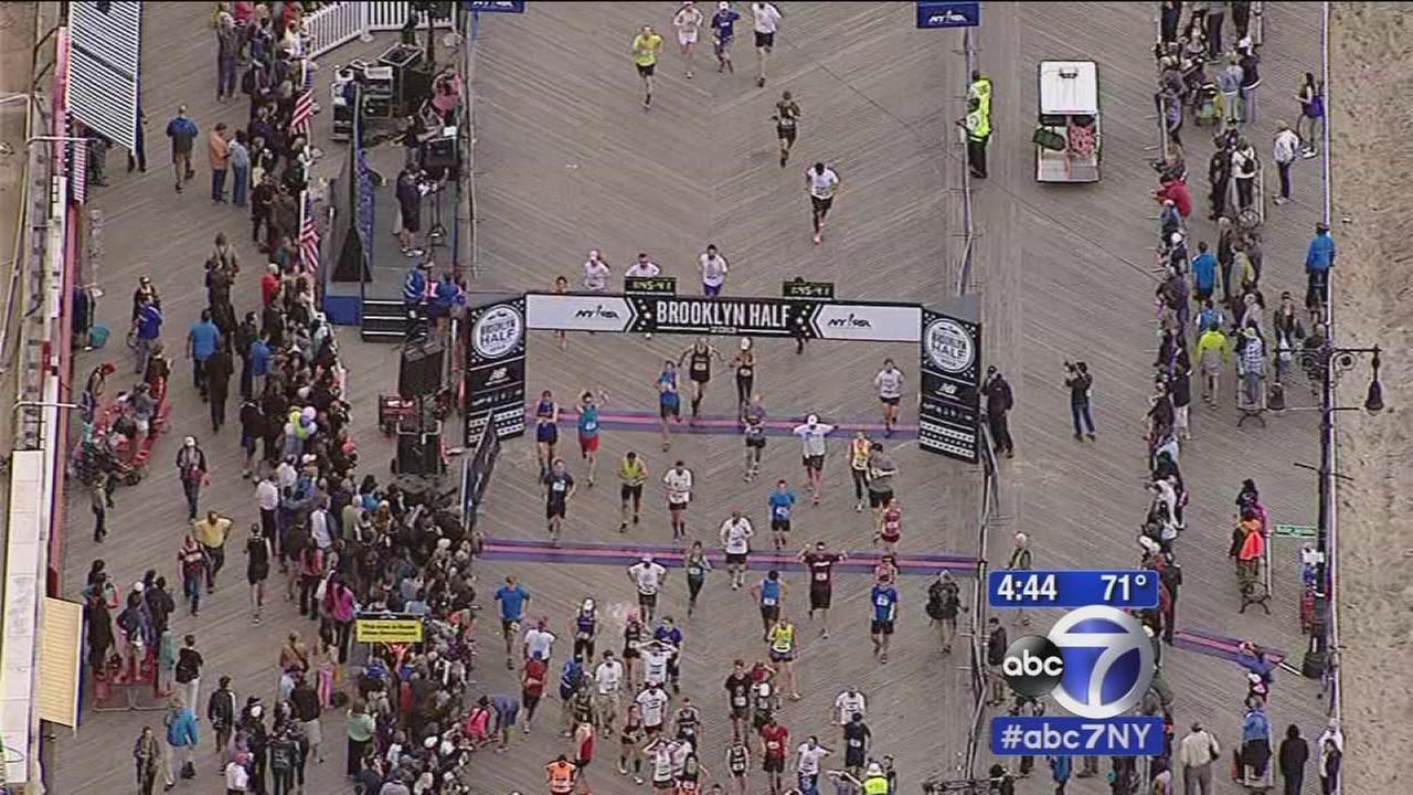 Runners set for Airbnb Brooklyn Half Marathon