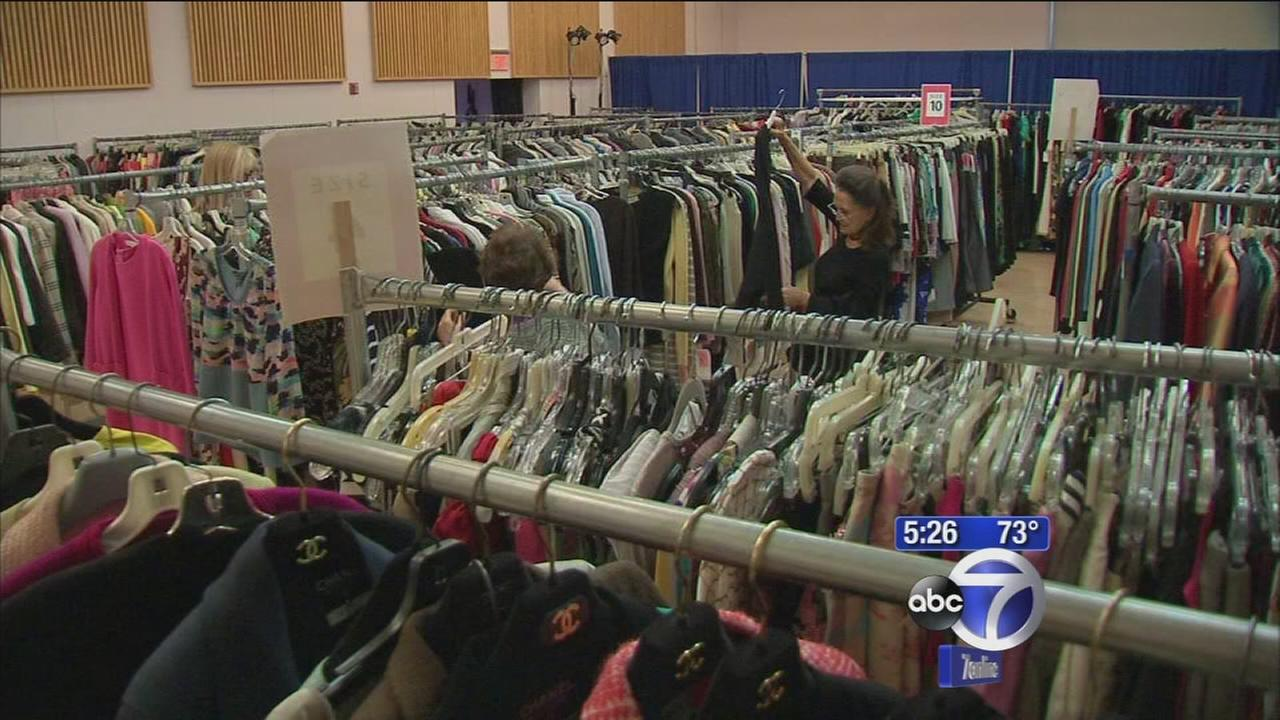 Big discounts at fashion fundraiser sale