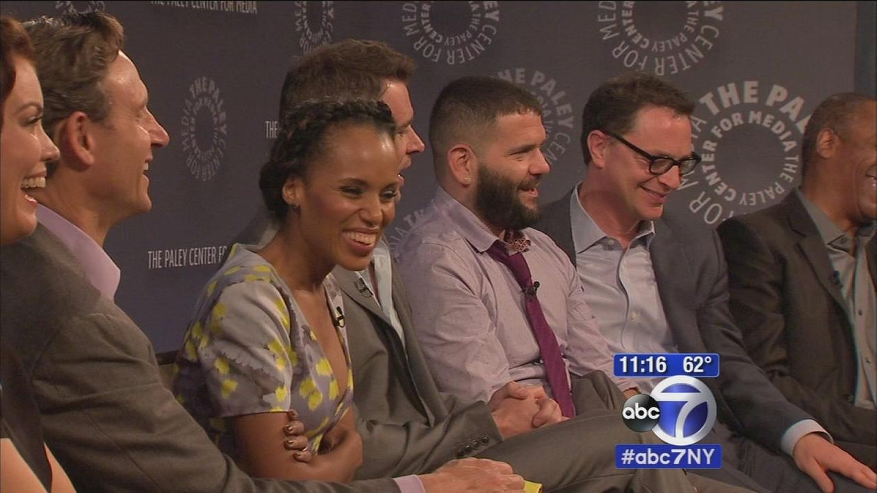 Cast of Scandal talks about big season finale in New York City