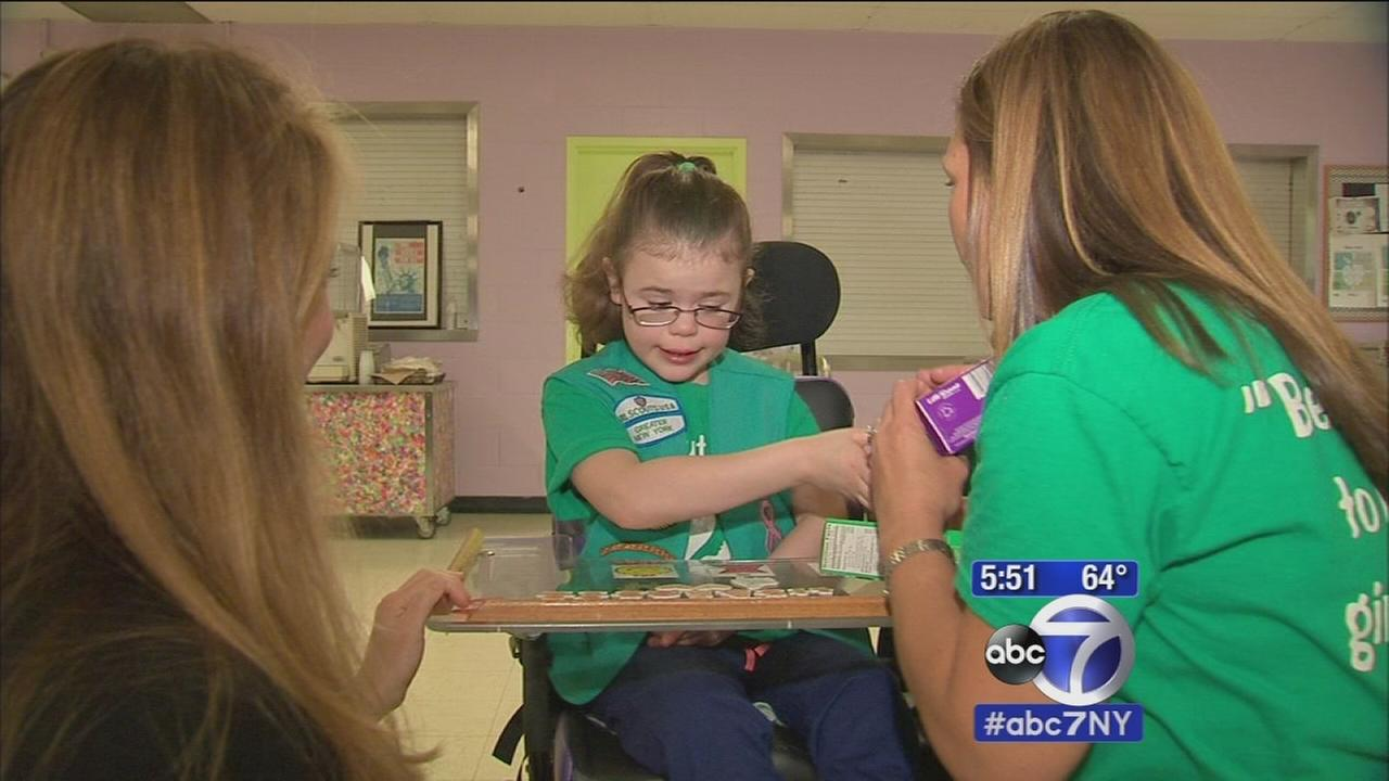 Girl Scout with disabilities becomes numnber one cookie seller on Staten Island