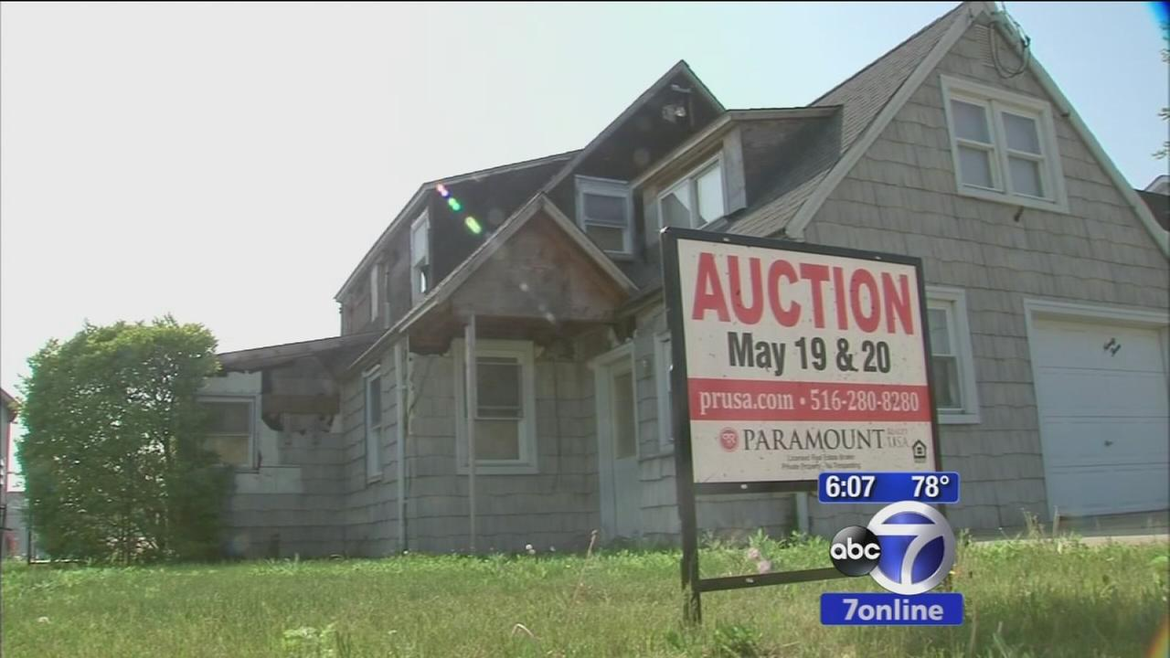 Homes damaged by Superstorm Sandy up for auction on Long Island