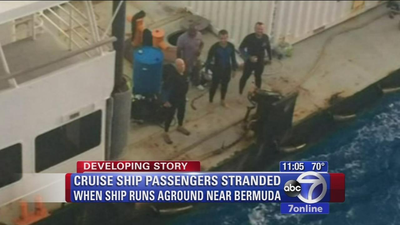 Norwegian Dawn Cruise Ship Refloated After Running Aground In Bermuda Abc7ny Com