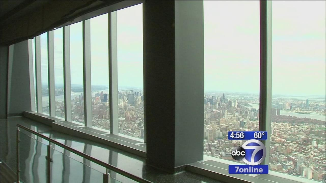 One World Trade Center Observatory unveiled