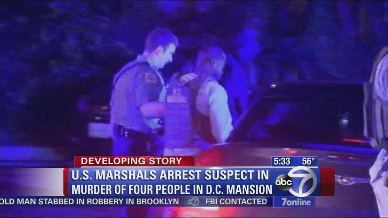 Suspect in murders of DC family arrested in Washington, DC