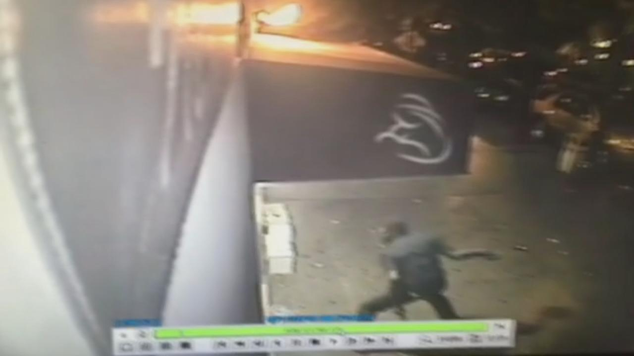 Video shows Brooklyn arsonist setting fire