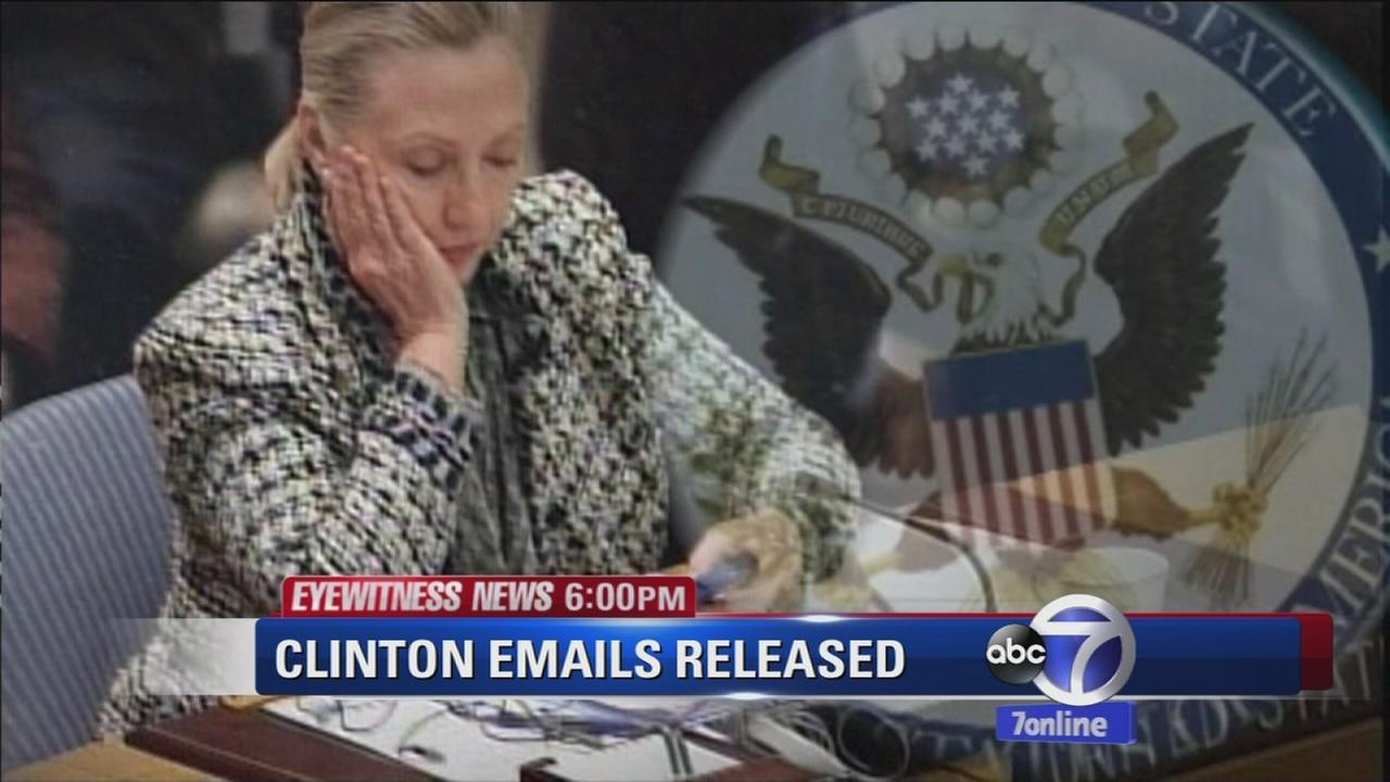 Hillary Clintons emails released