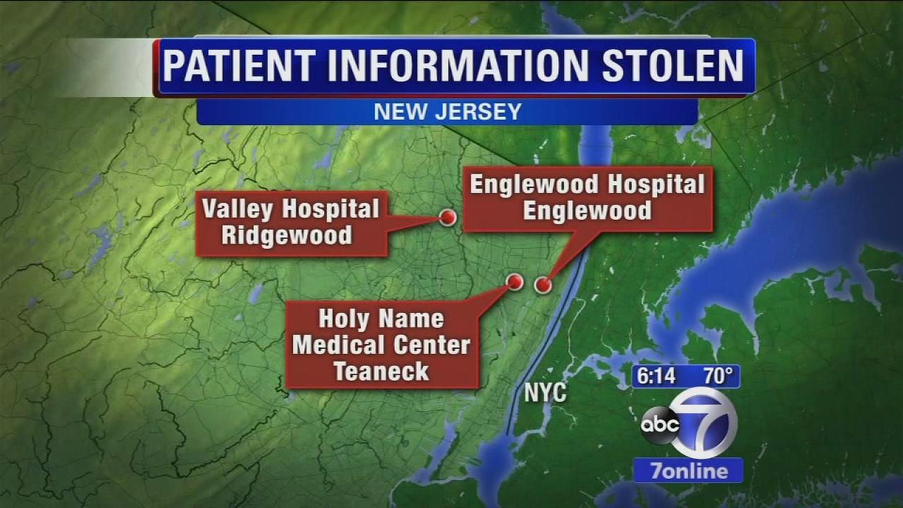 ID theft at three hospitals in New Jersey