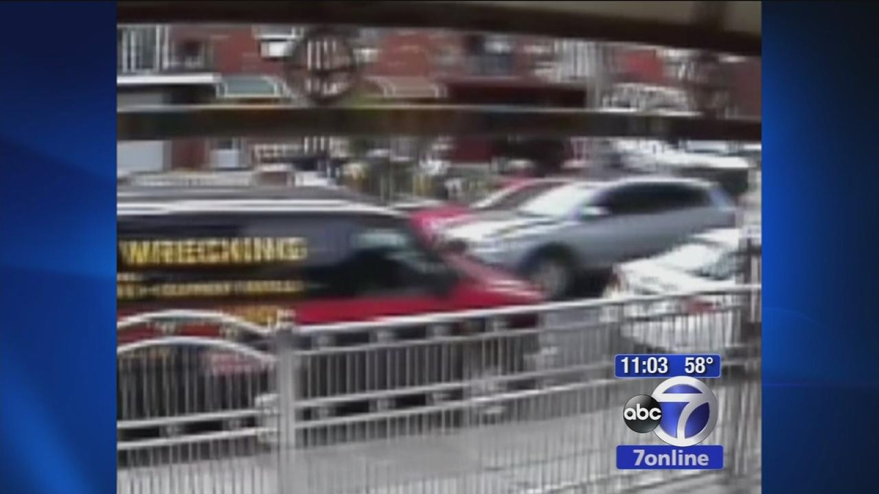 VIDEO: Surveillance video of car involved in Bronx hit and run