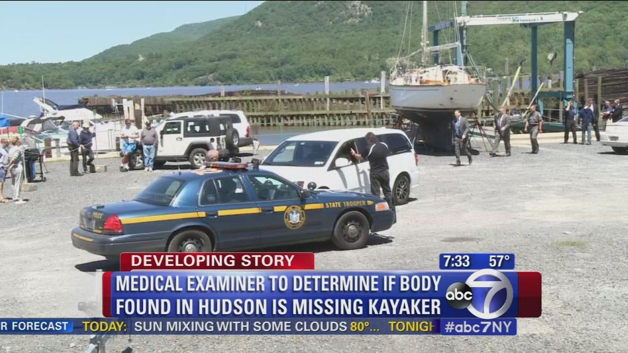 Tests to determine if body found in Hudson is missing kayaker