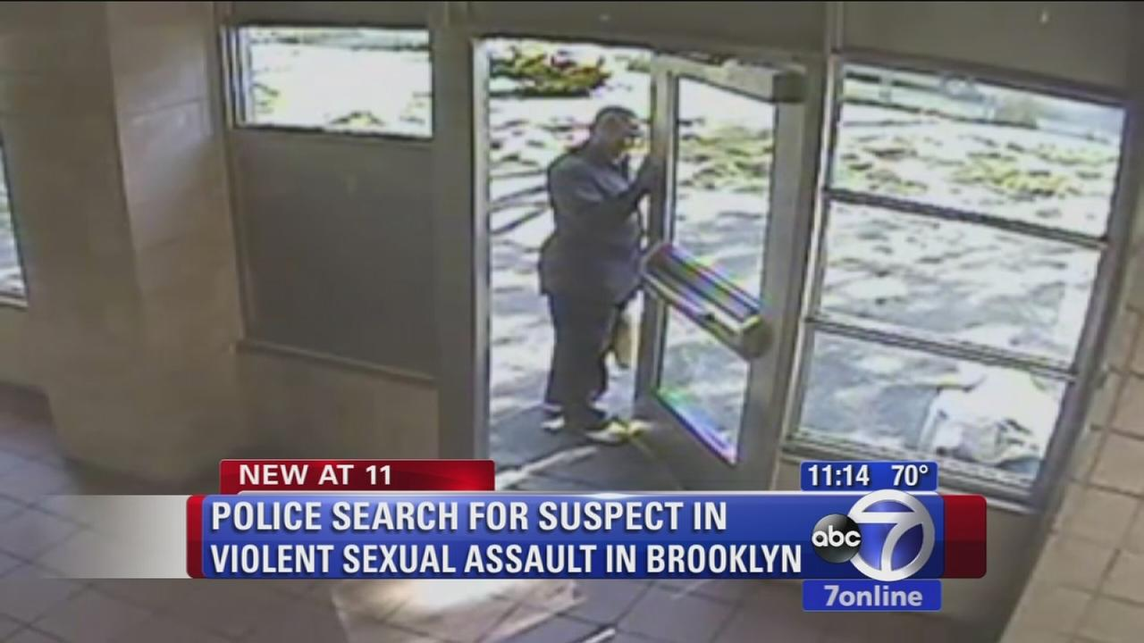 Police searching for suspect in violent sexual assault in Brooklyn