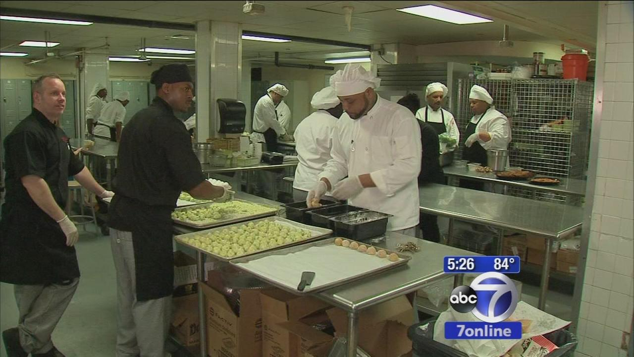 Local group helps vets...starting in the kitchen
