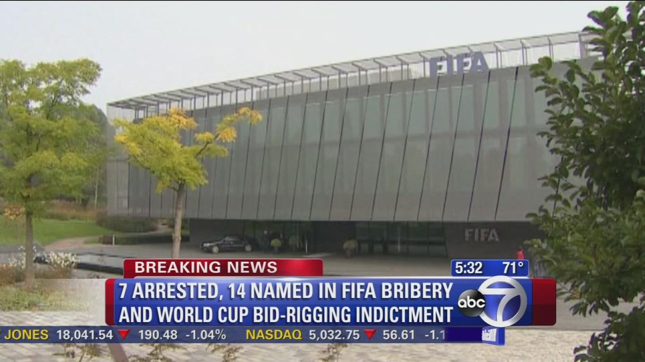 FIFA officials arrested in federal corruption investigation