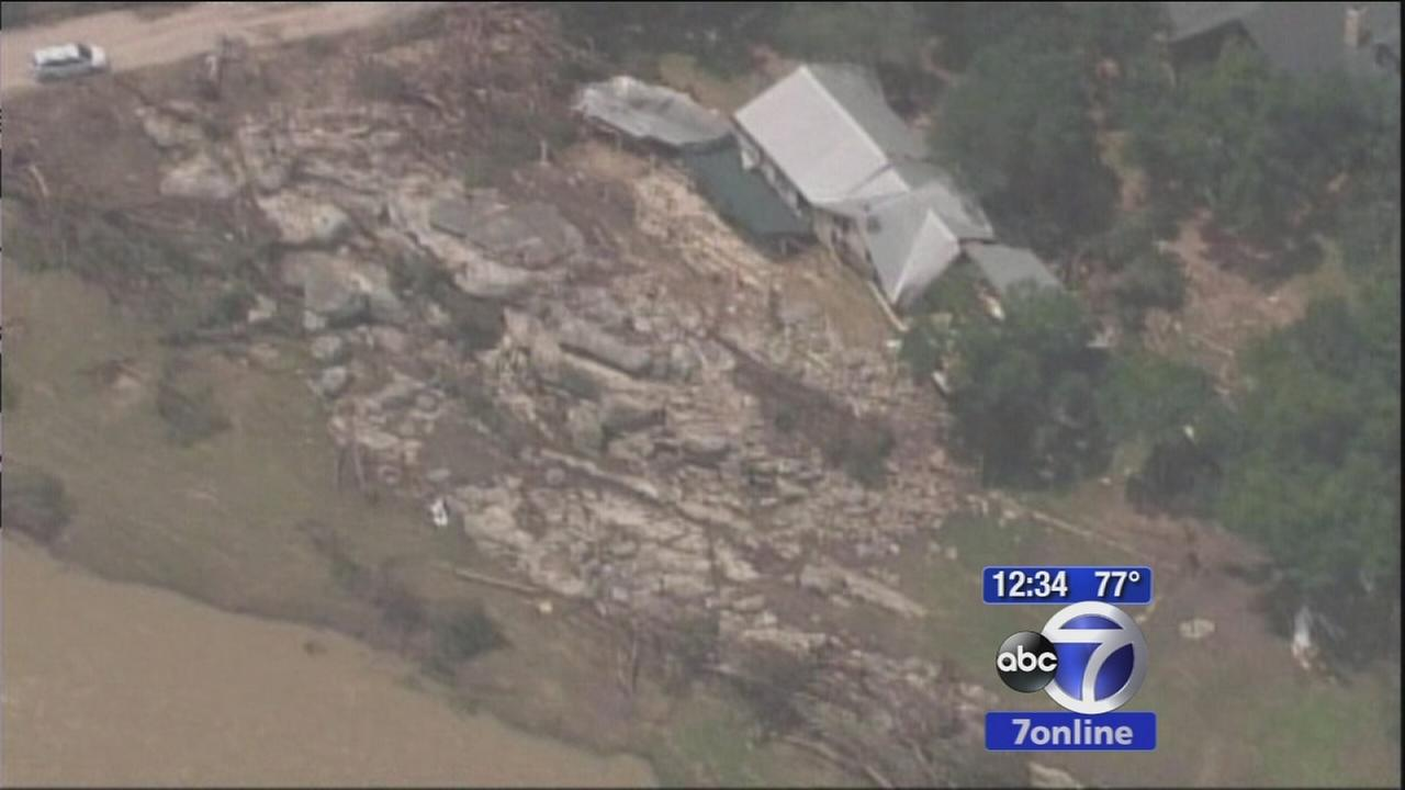 Many without homes after Texas flooding