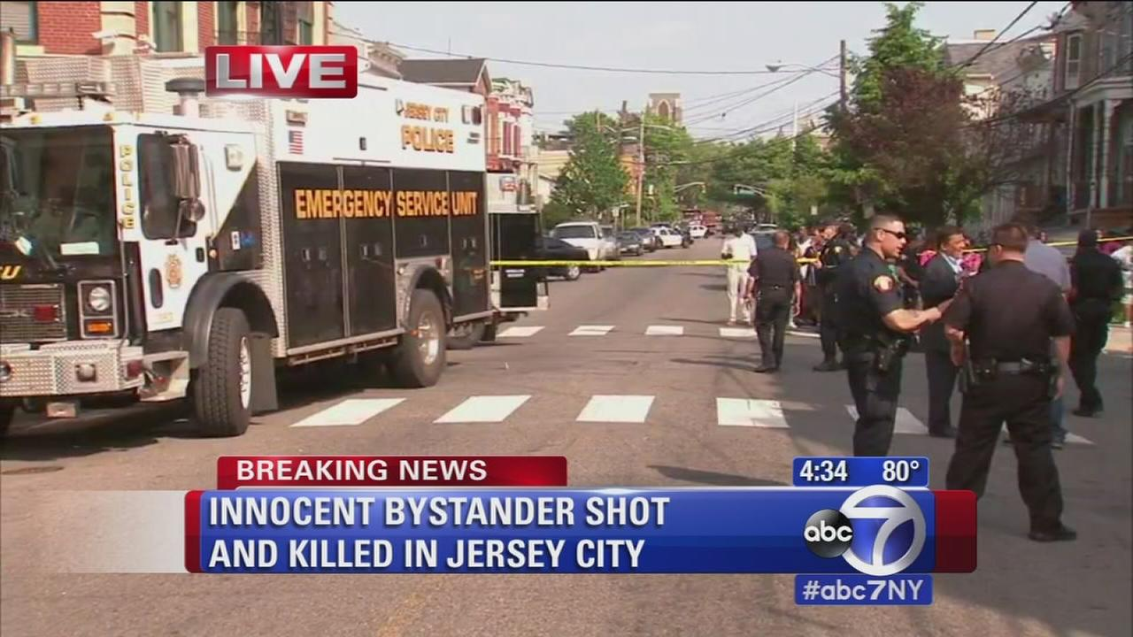 Innocent bystander fatally shot in Jersey City