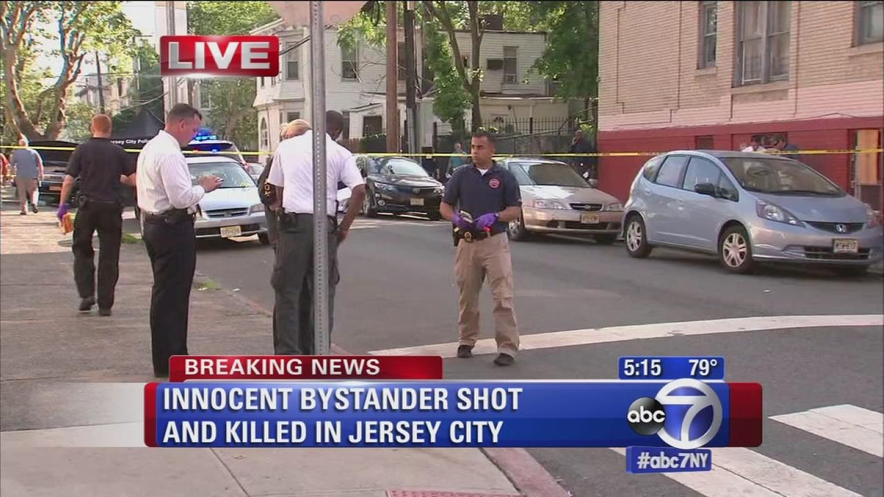 Innocent bystander shot in Jersey City