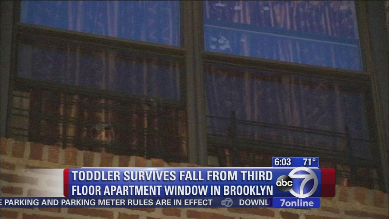 Child seriously injured after falling out of window in Brooklyn