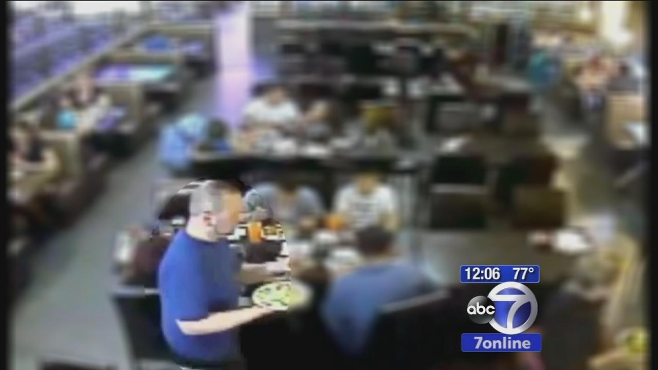 Police: Suspect took pics of boy in restaurant bathroom