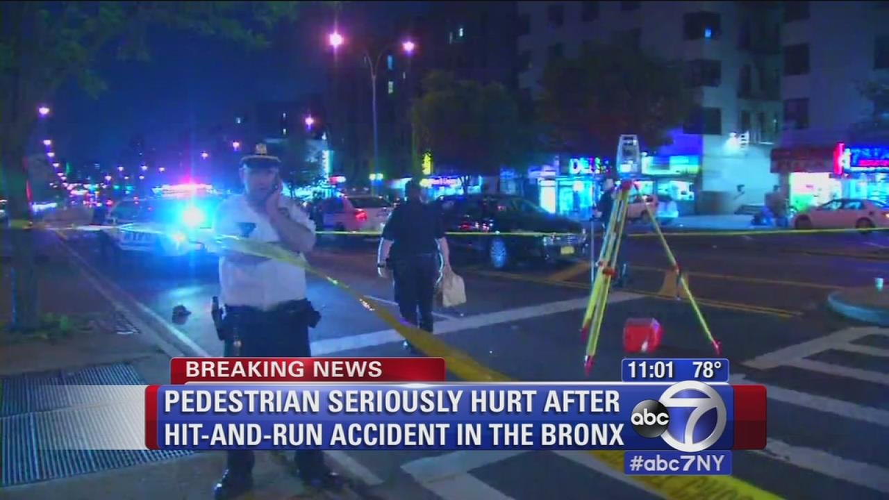 Man critically injured in Bronx hit and run