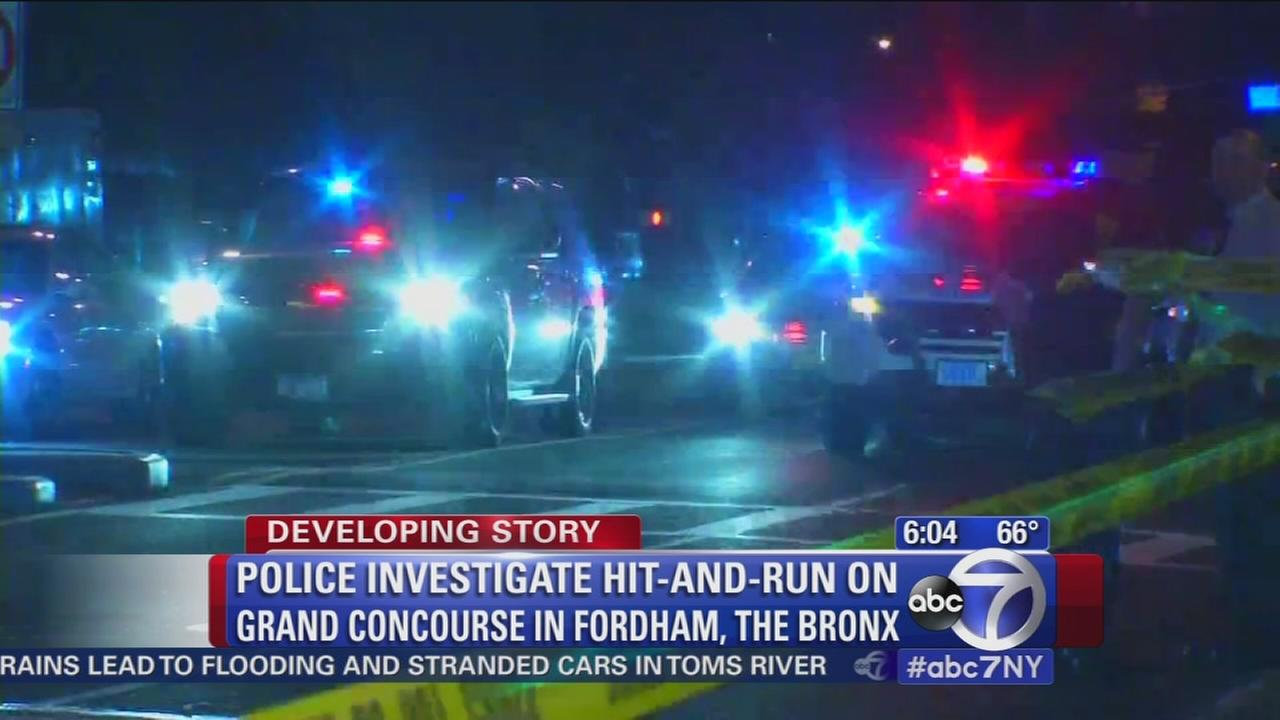 Hit-and-run driver critically injures pedestrian in Bronx