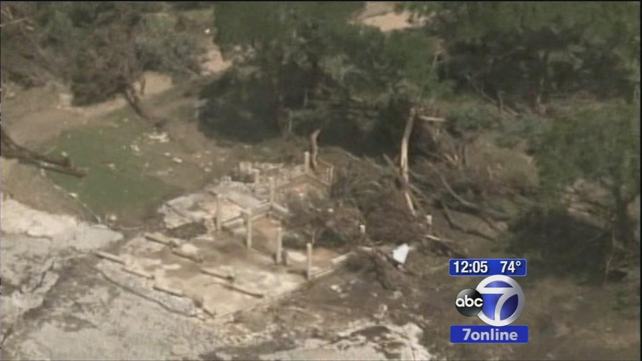 River levels in Texas cause concern