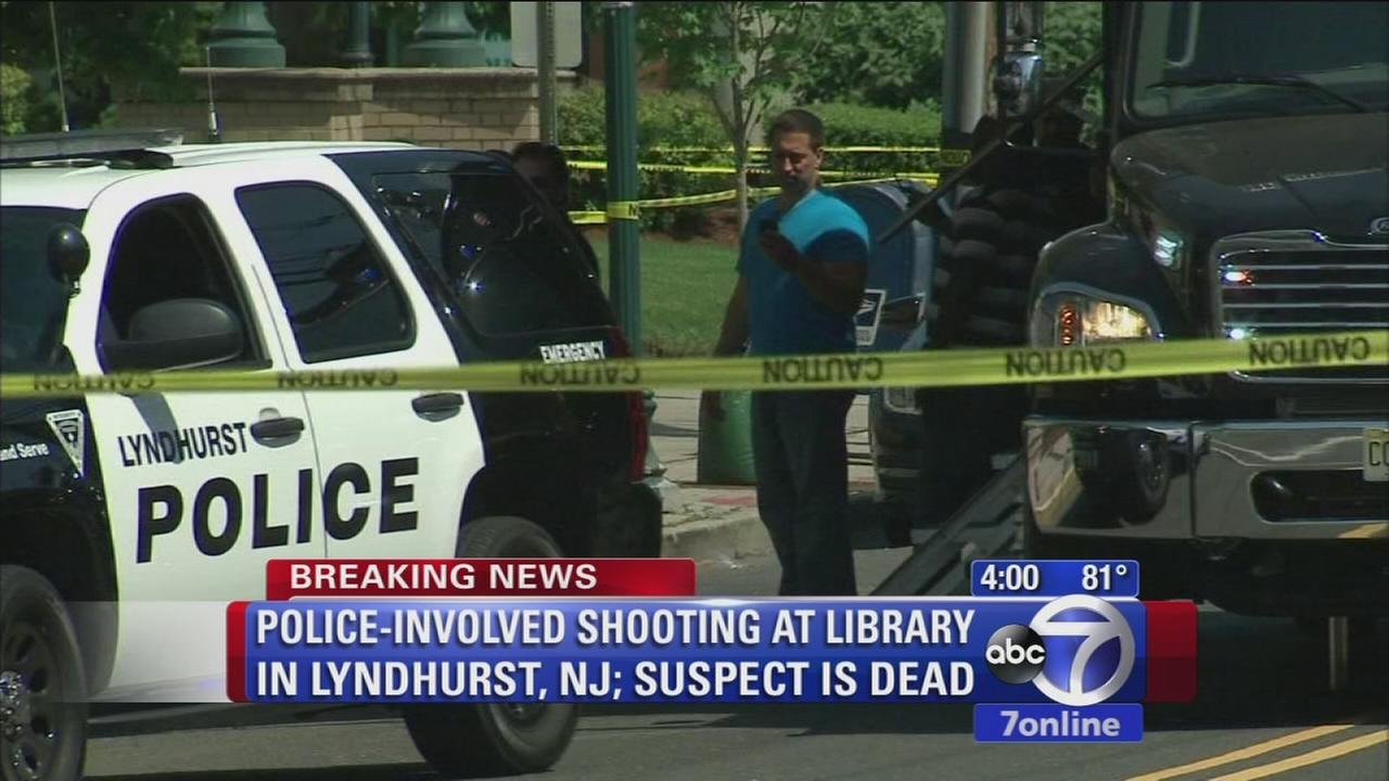 Suspect dead in police-involved shooting in Lyndhurst